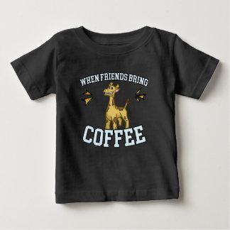 Coffee Culture - Coffee Snob - Funny Giraffe Baby T-Shirt