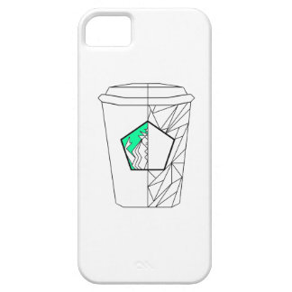Coffee Culture Green Phone Case