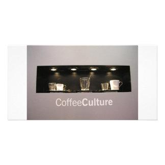 Coffee Culture Photo Card Template
