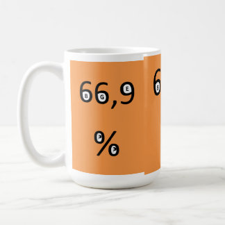 Coffee cup - 66.9% of the pirates for the BGE requ