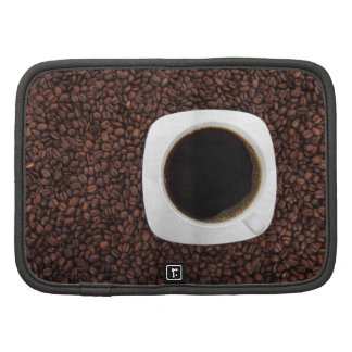 Coffee cup and beans folio planners