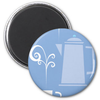 Coffee Cup and Pot Magnet