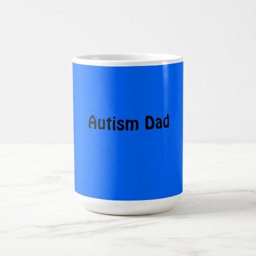 Coffee Cup (Autism Dad) Coffee Mugs