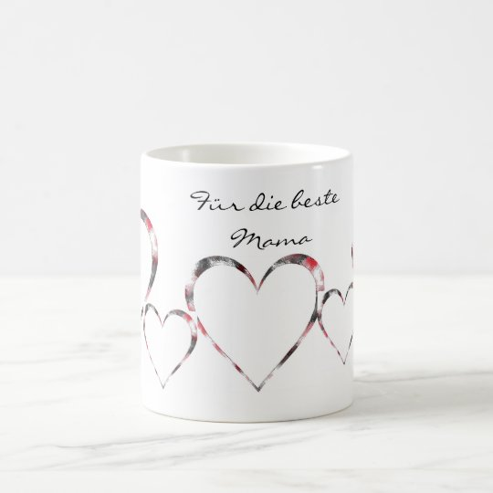 Coffee cup best mother heart cup