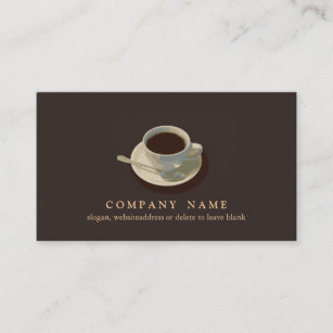 Coffee business cards zazzle coffee cup business card colourmoves