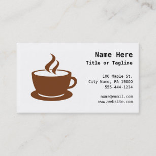 Internet cafe business cards zazzle coffee cup cafe business card colourmoves