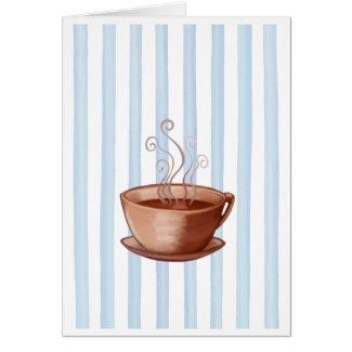 Coffee Cup Card card