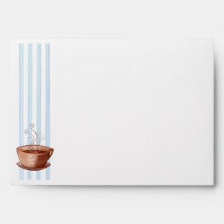 Coffee Cup Card Envelope