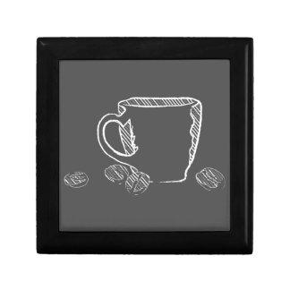 COFFEE CUP CHALK GIFT BOX