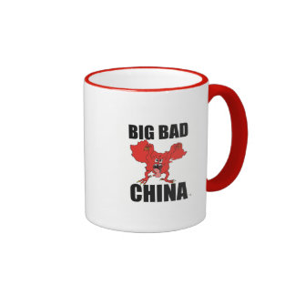 "Coffee cup - China Monster with ""Big Bad China"""