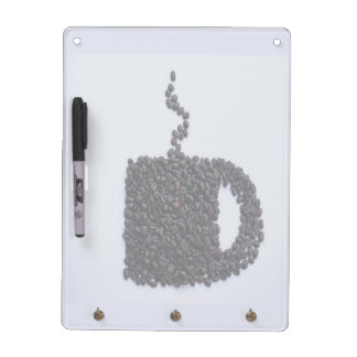 Coffee Cup, Coffee Beans Dry-Erase Board