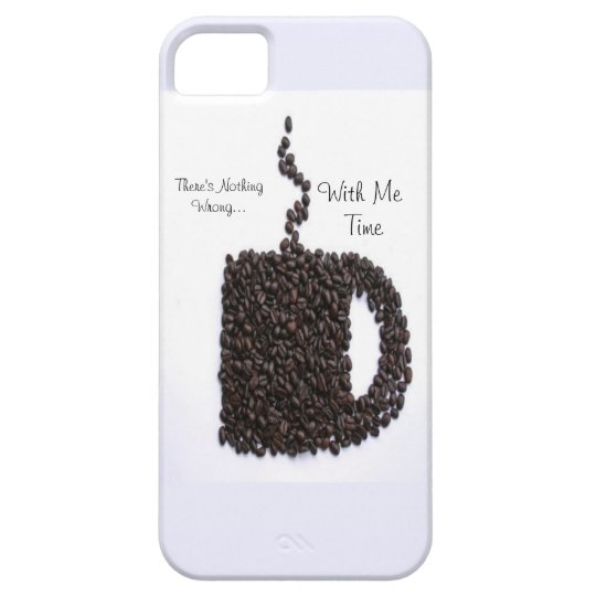 Coffee Cup, Coffee Beans iPhone SE/5/5s Case