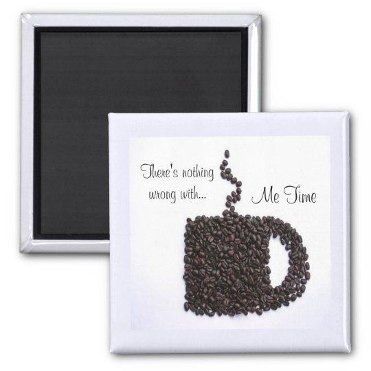 Coffee Cup, Coffee Beans Magnet