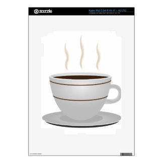Coffee cup decals for iPad 3