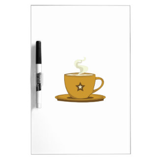 Coffee Cup Dry-Erase Whiteboard