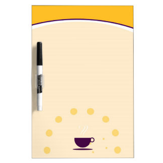 Coffee Cup Dry Erase Boards