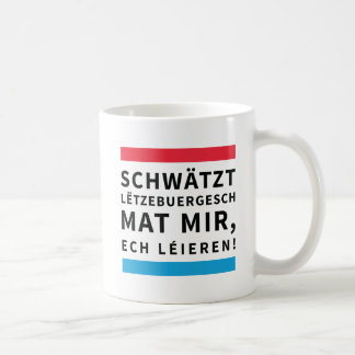 Coffee Cup for People who Learn Luxembourgish
