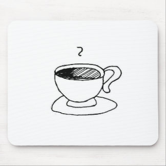 Coffee Cup Gear Mouse Pad