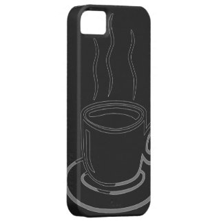 Coffee Cup Graphic Art iPhone 5 Cover