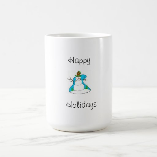 Coffee Cup(Happy Holidays) Mugs