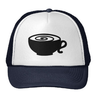 Coffee cup hats
