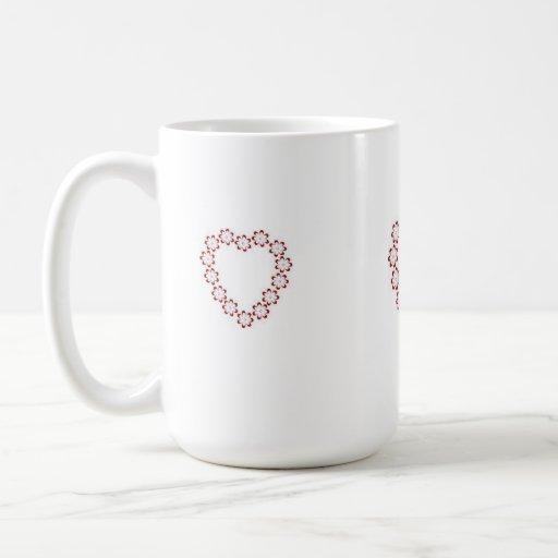 Coffee Cup(Hearts Design) Mugs