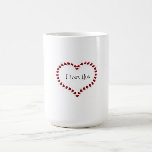 Coffee Cup(I Love You) Mug