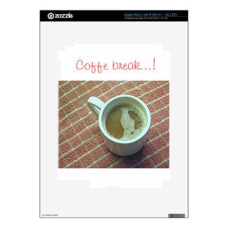 Coffee cup iPad 3 skin