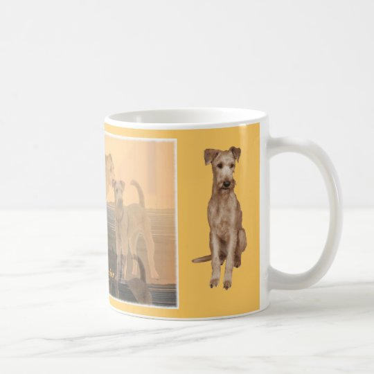 "Coffee cup ""Irish Terrier """