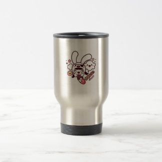 coffee cup kawaii 15 oz stainless steel travel mug