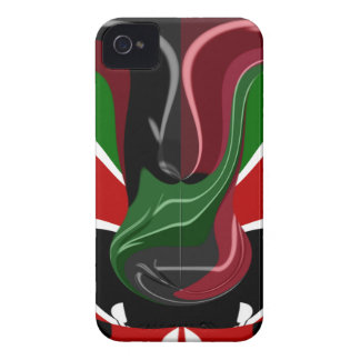 Coffee cup Kenya Flag Hakuna Matata iPhone 4 Case