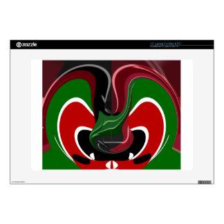 Coffee cup Kenya Flag Hakuna Matata Skin For Laptop