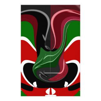 Coffee cup Kenya Flag Hakuna Matata Stationery