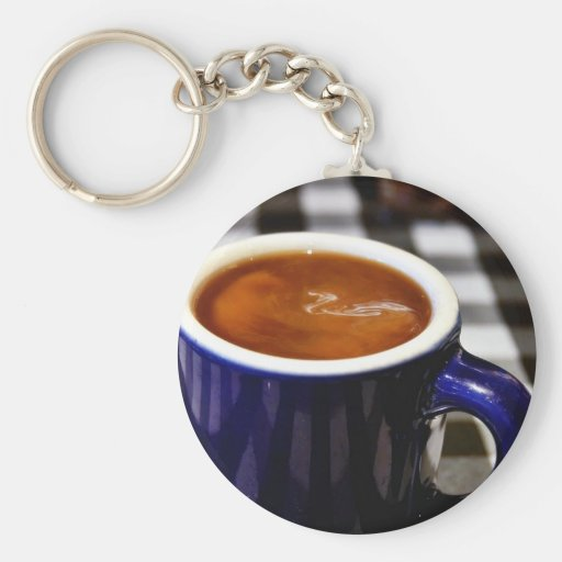 Coffee Cup Keychains
