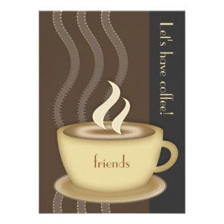 Coffee Cup Medium Invitation