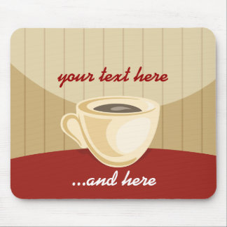 Coffee cup mouse-pad mouse pad