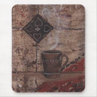 Coffee cup mousepad