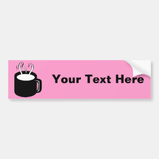 Coffee Cup / Mug - Steaming Hot Drink Bumper Stickers