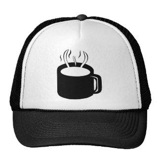 Coffee Cup Mug - Steaming Hot Drink Trucker Hat