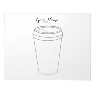 Coffee Cup (Paper To-Go) Notepad