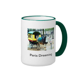 Coffee Cup Paris Dreaming  Image and Poem