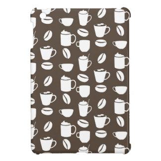 Coffee cup pattern iPad mini cover