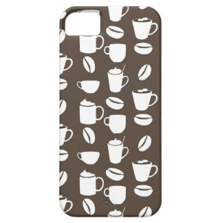 Coffee cup pattern iPhone SE/5/5s case