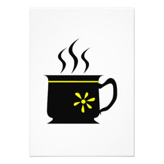 Coffee Cup Personalized Invite