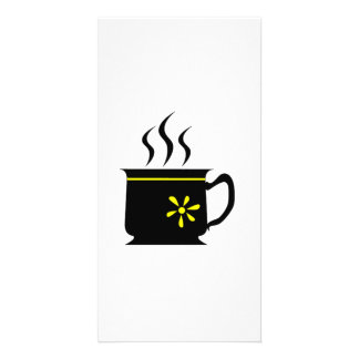 Coffee Cup Picture Card