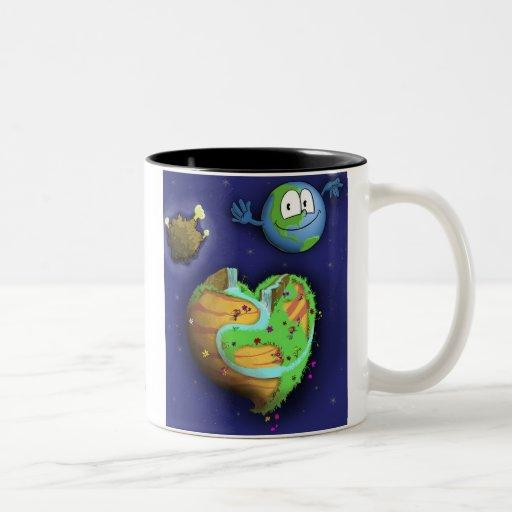 Coffee cup Planet Soul CVR, www.planet-soul.com Two-Tone Coffee Mug