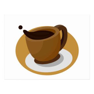 Coffee Cup Postcard
