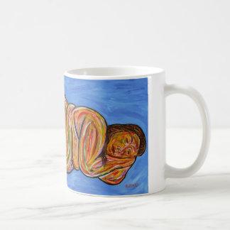 "Coffee cup print of ""Venus"" by Thurman Hubbard Coffee Mugs"
