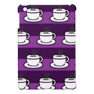 Coffee Cup Print  - Purple Case For The iPad Mini