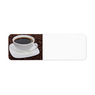 Coffee Cup Roast Delight Label